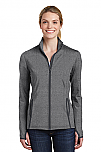 Archbishop Harry J. Flynn - Catechetical Institute - Sport-Wick - Women's Stretch Contrast Full-Zip Jacket
