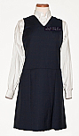 Academy of Holy Angels - V-Neck Jumper with Box Pleats