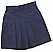 #2650 Pleated Tab Skort - Navy