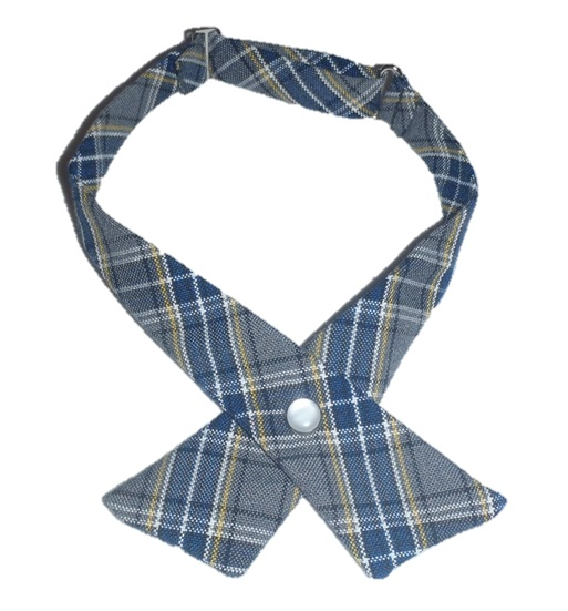 Girls Crossover Neck Tie