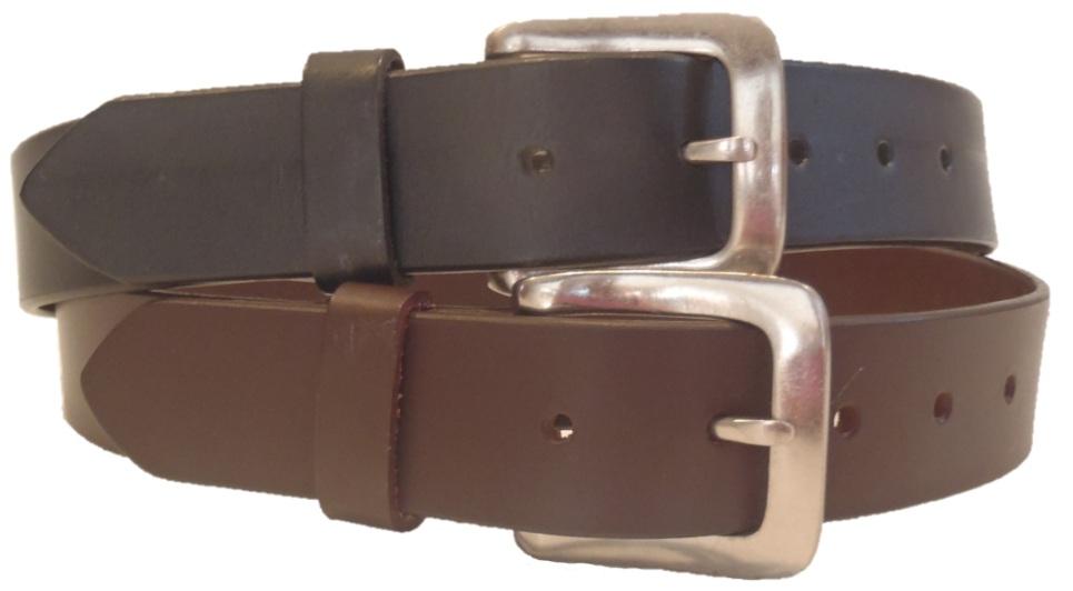 top grain leather belt 1 1 4 quot