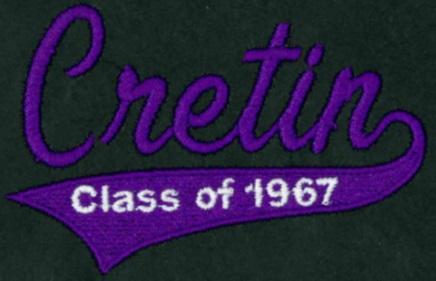 Cretin Class of 1967 Logo