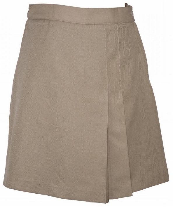 #UD Skort - Khaki (Shown for detail)