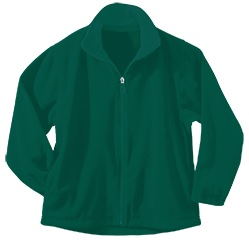Mother of Good Counsel - Unisex Full Zip Microfleece Jacket - Elderado