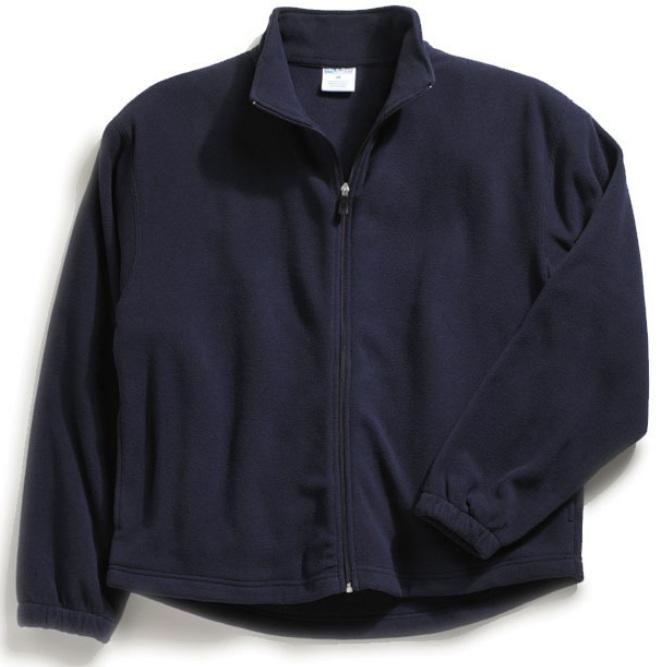 Shakopee Area Catholic School - Unisex Full Zip Microfleece Jacket - Elderado