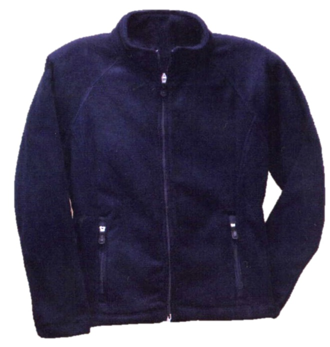 Mother of Good Counsel - Girls Full Zip Microfleece Jacket - Elderado