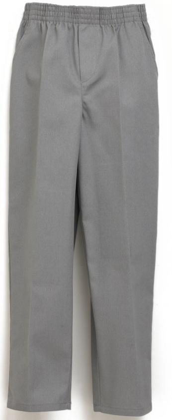 Unisex Pull-On Pants - All Around Elastic - Grey