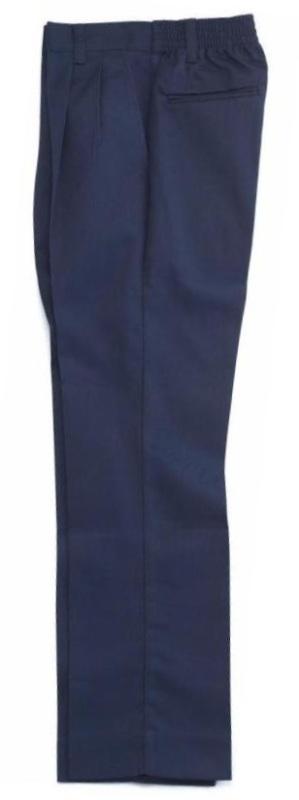 Boys Twill Pants - Elastic Back - #1268/1368 - Navy Blue