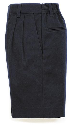 Boys Twill Shorts - Elastic Back - #1286/1349 - Navy Blue