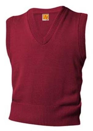 Agape Christi Academy - Unisex V-Neck Sweater Vest