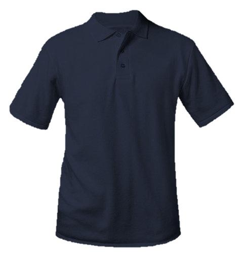 Chesterton Academy - Unisex Interlock Knit Polo Shirt - Short Sleeve