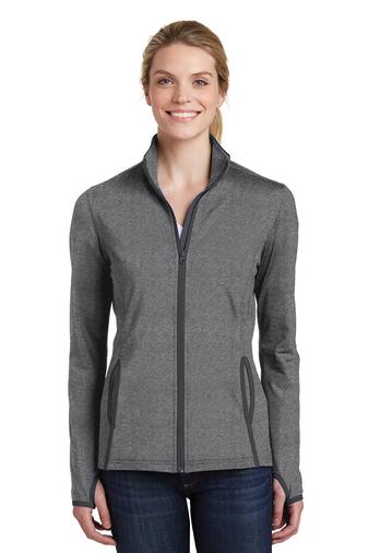 Archbishop Harry J. Flynn - Catechetical Institute - Sport-Wick - Women's Stretch Contrast Full-Zip Jacket