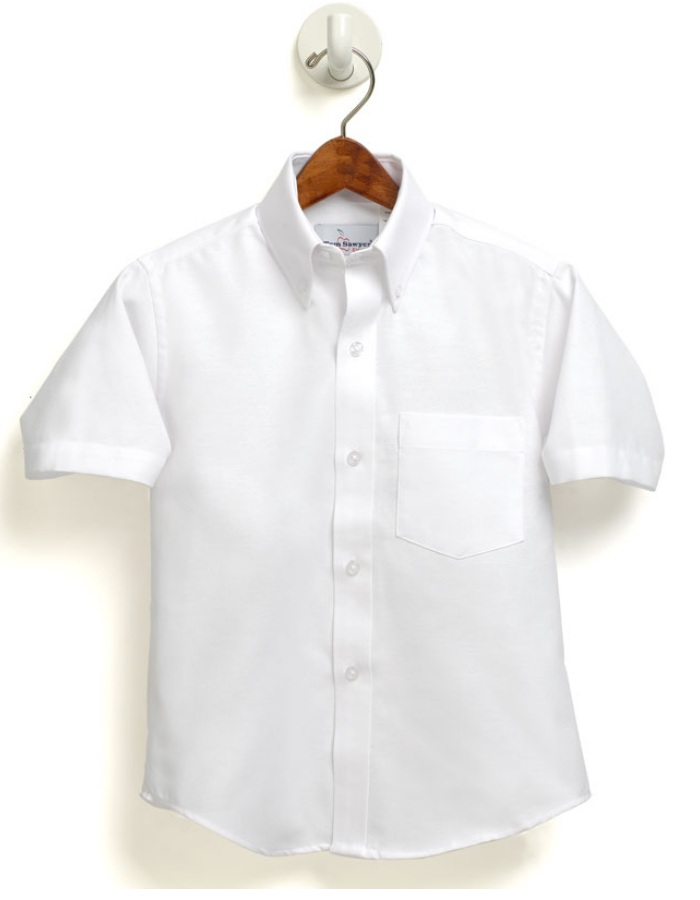 Community of Saints Regional Catholic School - Boys Oxford Dress Shirt - Short Sleeve