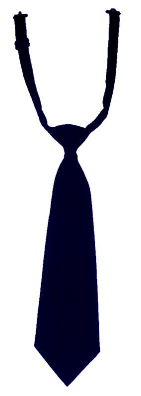 Pre-Tied Neck Tie - Navy Blue