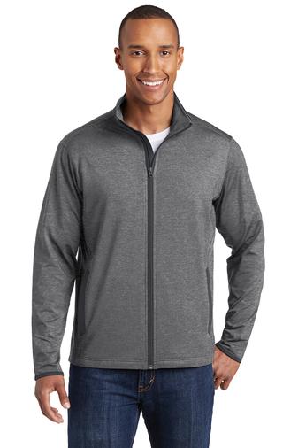 Archbishop Harry J. Flynn - Catechetical Institute - Sport-Wick - Men's Stretch Contrast Full-Zip Jacket