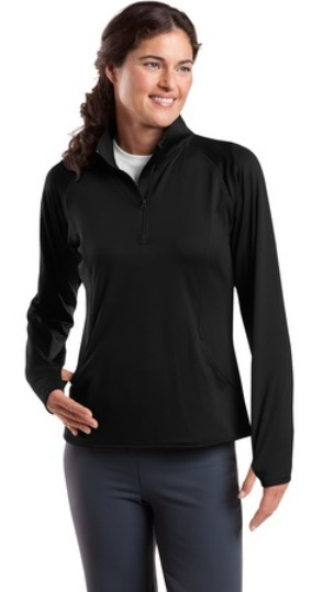 Christian Life Academy - Sport-Wick - Womens Stretch 1/2-Zip Pullover