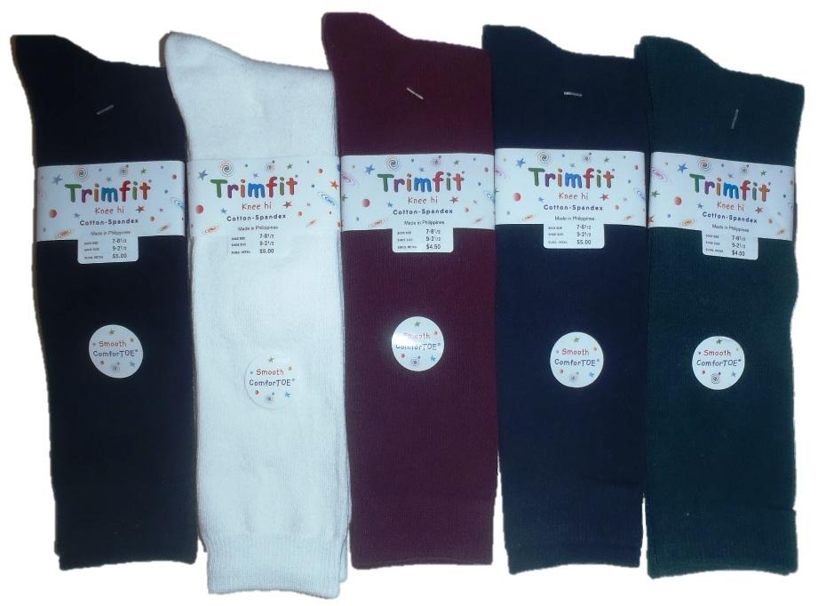 Trimfit - Girls Knee High Socks - 3 Pack