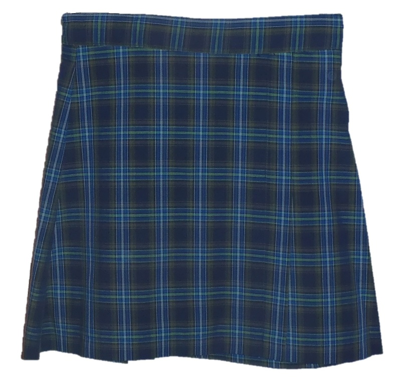 #UD27 Skort with 2 Pleats - Front & Back - Plaid #27