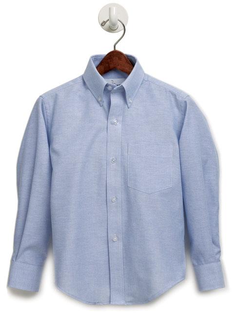 Agape Christi Academy - Boys Oxford Dress Shirt - Long Sleeve