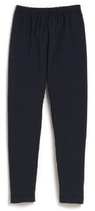 Girls Knit Leggings - Navy Blue