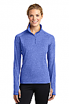 Holy Trinity - Sport-Wick - Womens Stretch 1/2-Zip Pullover