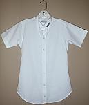 Cretin-Derham Hall - Women's Fitted Oxford Dress Shirt - Short Sleeve