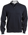 East Wind - Men's Quarter Zip Sweater