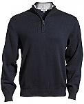 East Wind - Men's Quarter Zip Sweater