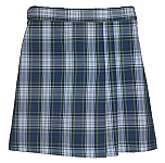 #UD80 Skort with 2 Pleats - Front & Back - Plaid #80
