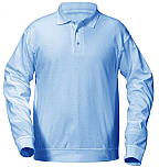 Our Lady of the Prairie - Unisex Interlock Knit Polo Shirt with Banded Bottom - Long Sleeve