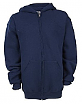 Magnuson Christian School - Russell Athletic Sweatshirt - Hooded Full Zip
