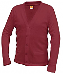 Eagle Ridge Academy - Unisex V-Neck Cardigan Sweater with Pockets