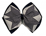 Hair Bow - Extra Large - Plaid #38