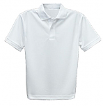 St. Joseph's School of West St. Paul - Unisex Performance Knit Polo Shirt - Moisture Wicking - 100% Polyester - Short Sleeve