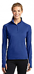 St. Jude of the Lake - Sport-Wick - Womens Stretch 1/2-Zip Pullover