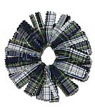 Ponytail Holder - Zig-Zag Cut