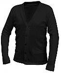 Yinghua Academy - Unisex V-Neck Cardigan Sweater with Pockets