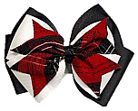 Hair Bow - Extra Large - Plaid #70