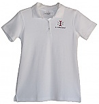 St. Odilia School - Girls Fitted Smooth Interlock Knit Polo Shirt - Short Sleeve