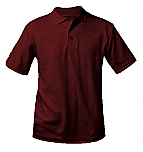 Veritas Academy - Unisex Interlock Knit Polo Shirt - Short Sleeve