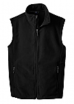 Twin Cities Academy High School - Unisex Full Zip Microfleece Vest