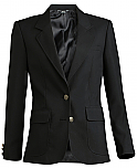 Girls Blazer - Black