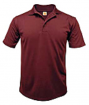 Nova Classical Academy - Unisex Performance Knit Polo Shirt - Moisture Wicking - 100% Polyester - Short Sleeve