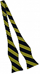 Bow Tie - Navy & Gold Stripes