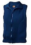 Unisex Full Zip Fleece Vest - A+
