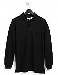 Holy Family Catholic High School - Unisex Mesh Pique Knit Polo Shirt - Long Sleeve