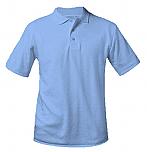 St. Mary's School - New Richmond - Unisex Interlock Knit Polo Shirt - Short Sleeve