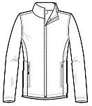 The International School of MN - Unisex Full Zip Performance Jacket - Elderado