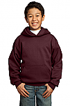 St. Hubert School - Fleece Pullover Hooded Sweatshirt - Grades 6-8