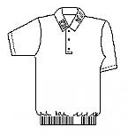 Cretin-Derham Hall - Unisex Performance Knit Polo Shirt with Banded Bottom - Short Sleeve